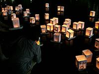 原爆記念の日 灯籠流し